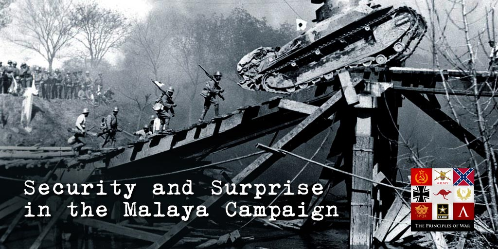 7 – Security and Surprise in Malaya. How were the British surprised with 4 years warning of invasion?