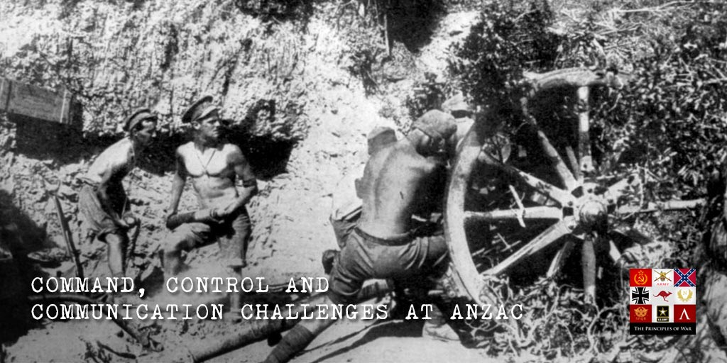 Firepower 1: Command, Control and Communication challenges at ANZAC