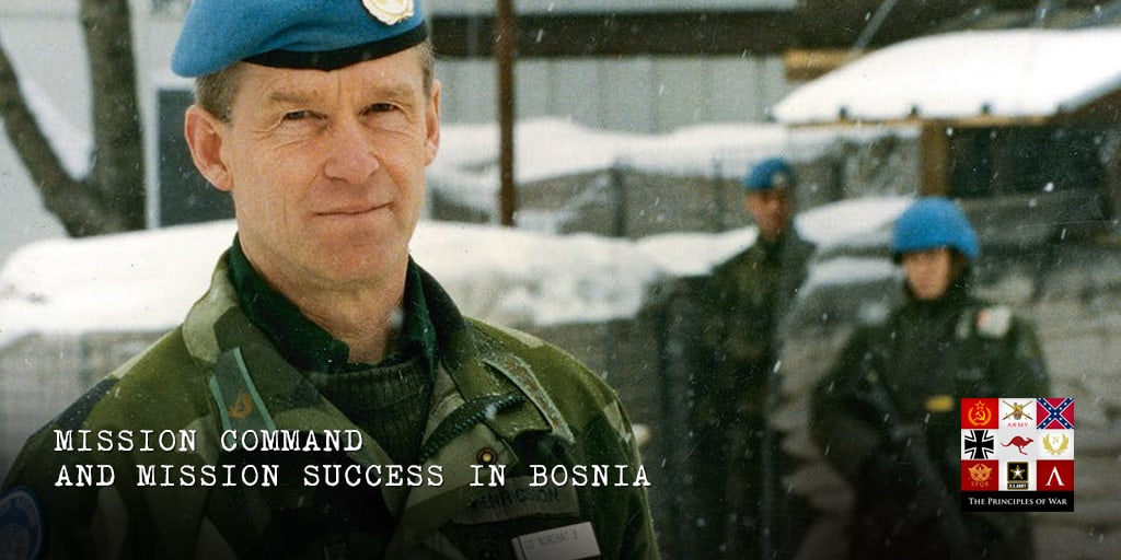Nordbat 2 Bosnia Mission Command