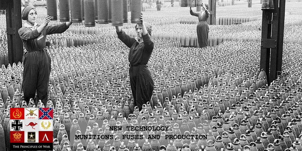 Firepower 14: New technology: Munitions, fuses and production for Artillery in WW1