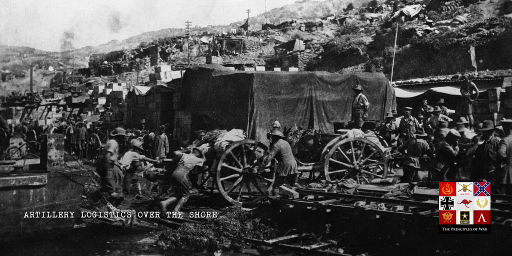 Firepower 11: Artillery Logistics over the Shore at Gallipoli