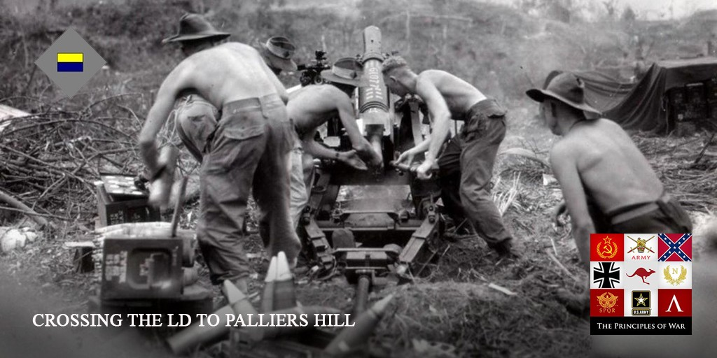 42 – The attack goes in on Pallier's Hill