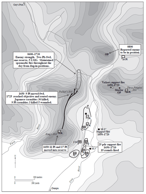 Map from On Shaggy Ridge
