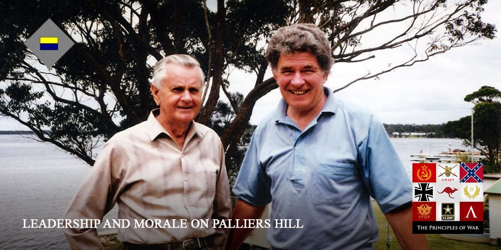 Leadership and Morale at Palliers Hill