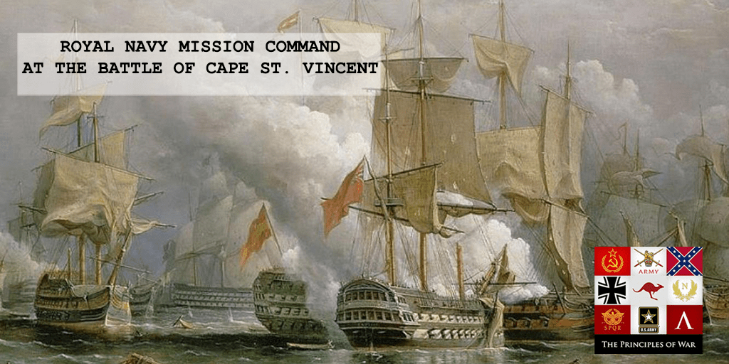 53 – Royal Navy Mission Command at the Battle of Cape St Vincent
