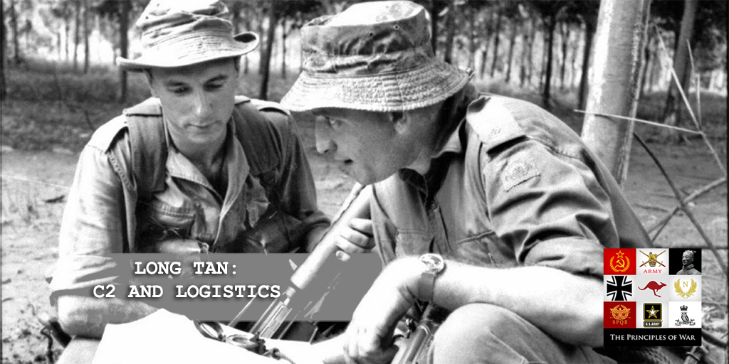 57 – The Battle of Long Tan logistics and C2