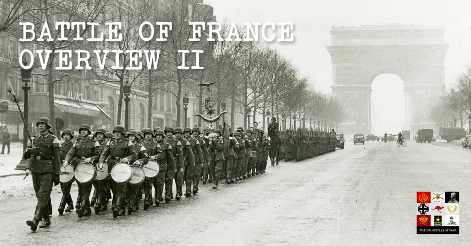 Overview of the Battle of France 1940